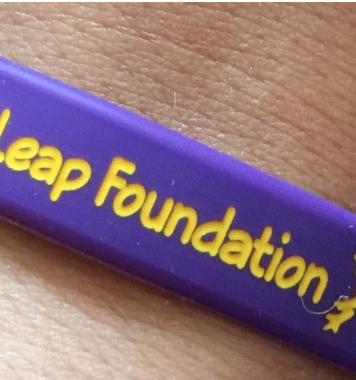 Live n Leap Wristband